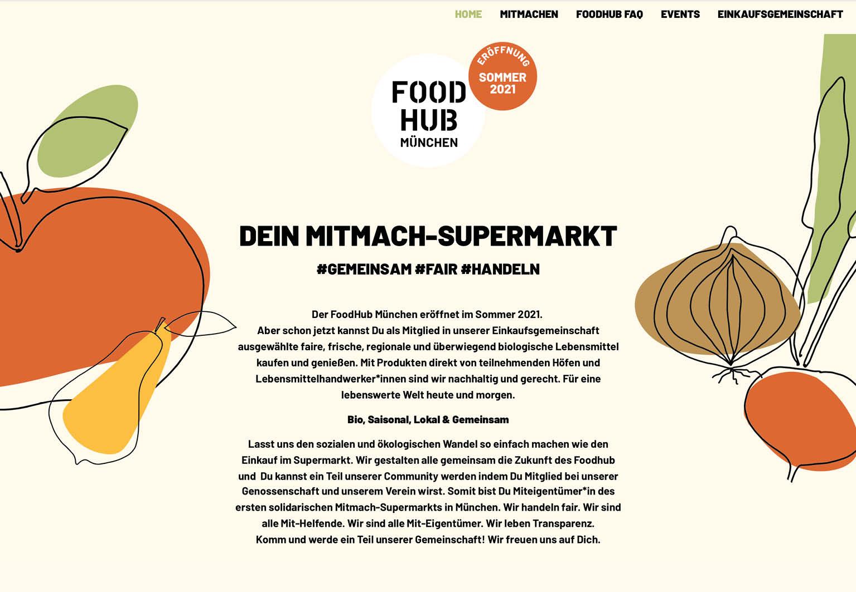 FoodHub Website